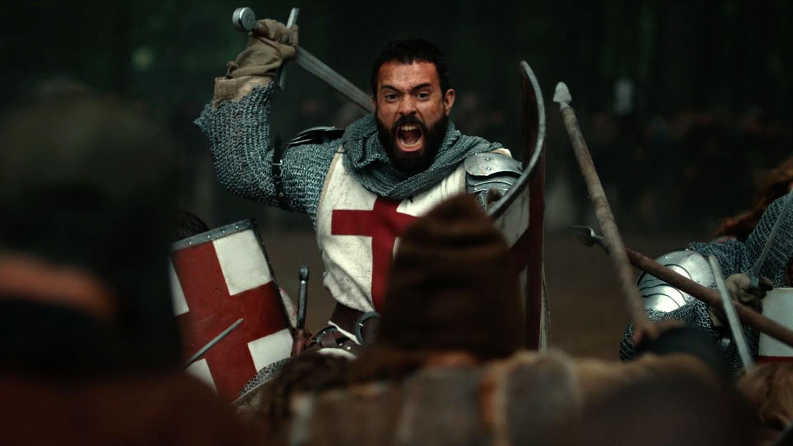Fotografía de Tom Cullen en 'Knightfall', nueva serie de History Channel