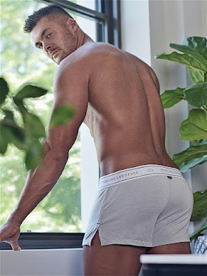 2Eros Core Series 2 Boxer Shorts Underwear Ivory Back Detail Gayrado Online Shop