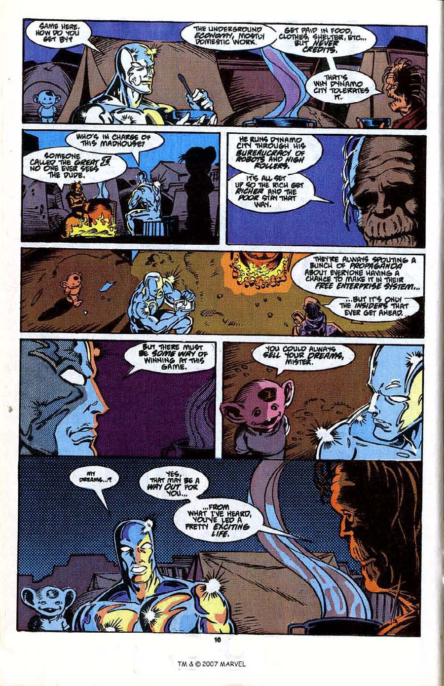 Read online Silver Surfer (1987) comic -  Issue #41 - 12