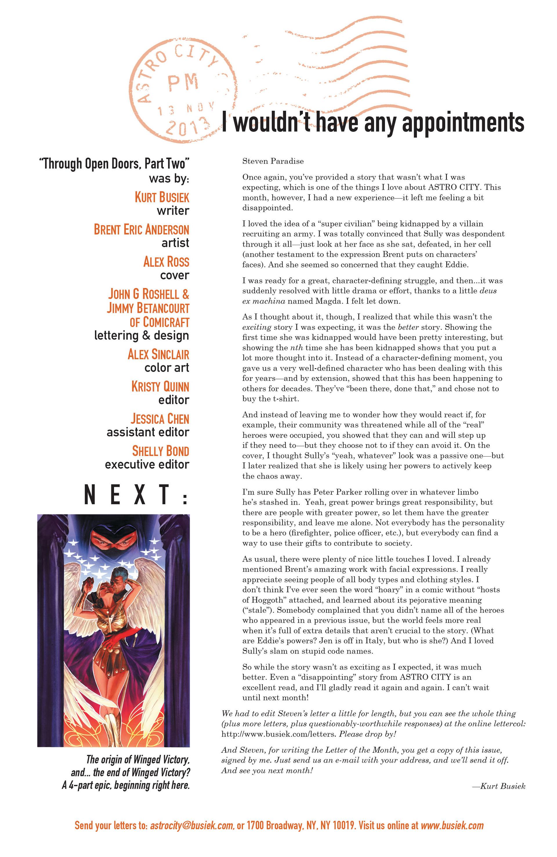 Read online Astro City comic -  Issue #6 - 26