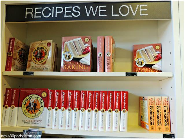Tienda Insignia King Arthur Flour: Libros de Cocina