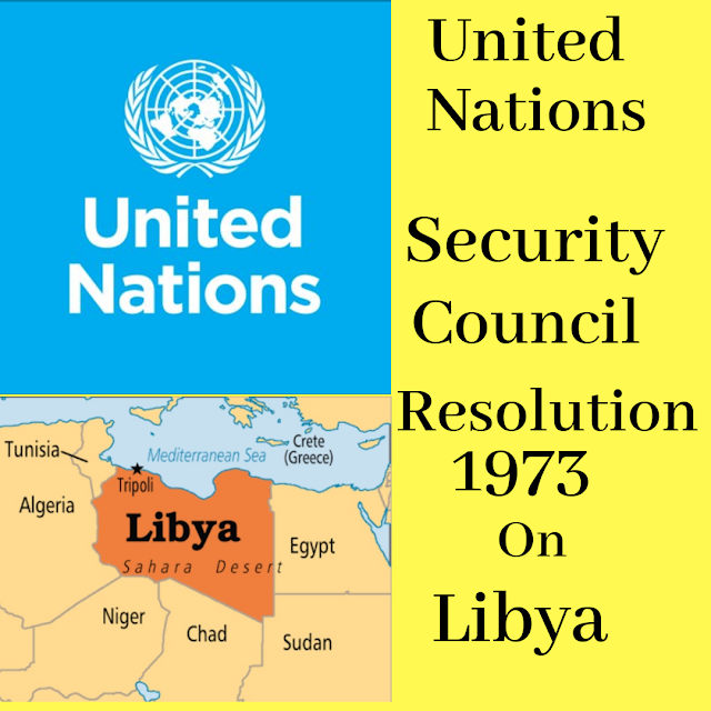 United Nations Security Council Resolution 1973 (2011) on Libya