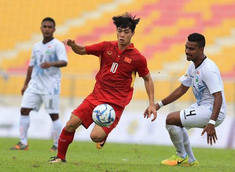 Video U22 Việt Nam 4-0 U22 Đông Timor Highlights - SEA Games 29