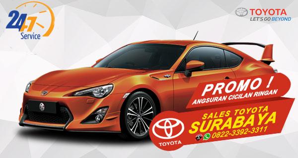Promo Angsuran Cicilan Ringan Toyota FT 86 Surabaya