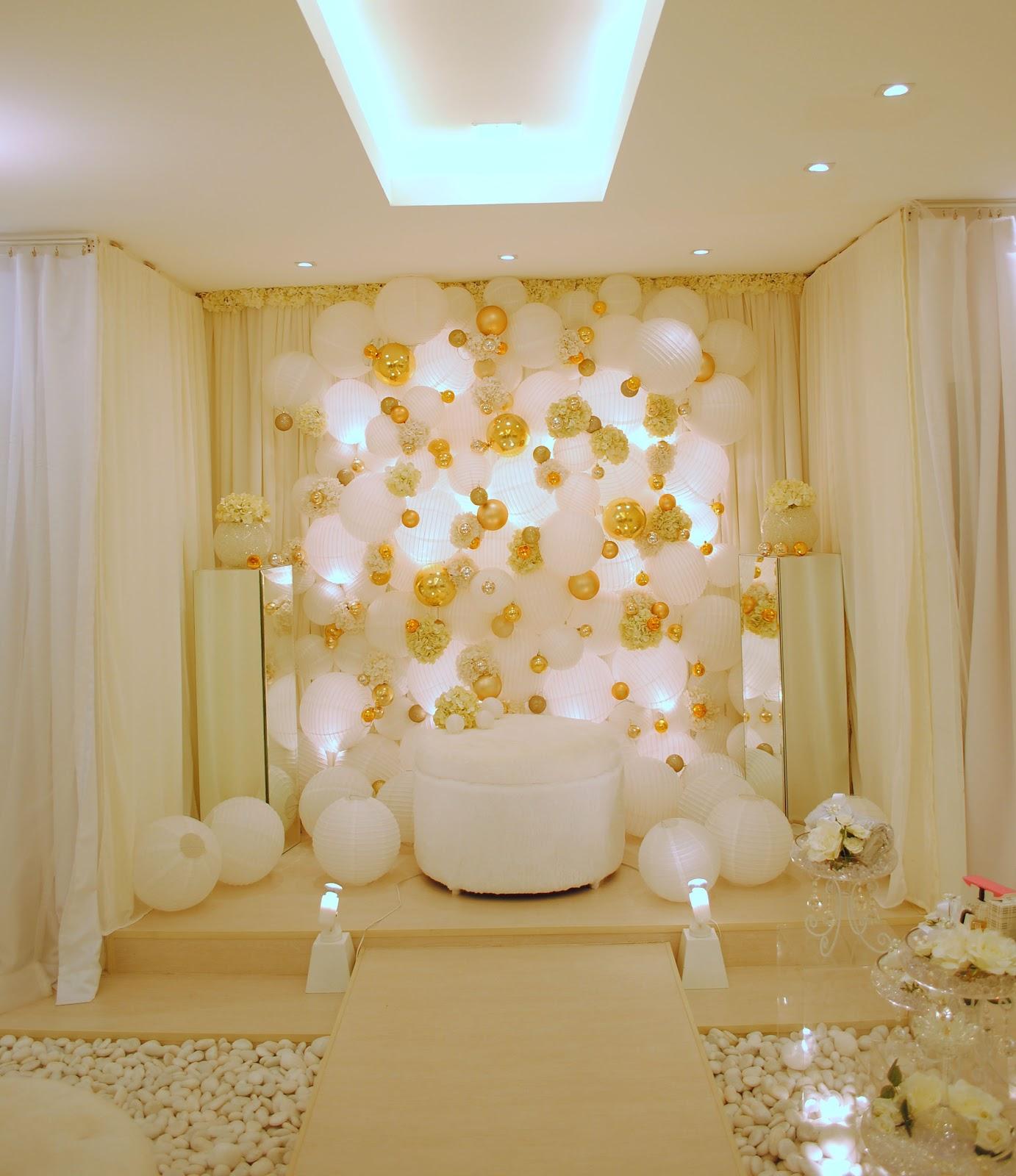 Wedding Nikah Simple Backdrop Decoration Muslim: SAIFUL SIN_the Designer: New Pelamin Designs By Saiful Sin