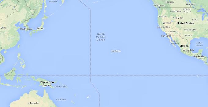 Calatorie virtuala prin Hawaii