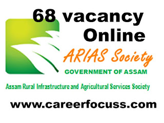 ARIAS Recruitment 2018: Assam Government welcomes contender for the ARIAS society Recruitment with 68 opportunities. Get the most recent updates for every qualified Candidate refreshed on August 18, 2018. Get straight Official Link for applying ARIAS Recruitment 2018 alongside current ARIAS Recruitment official Notification 2018 here. Locate every single ongoing ARIAS Vacancy 2018 crosswise over India and check every single most recent ARIAS 2018 Recruitment opportunities immediately here, Know imminent ARIAS Recruitment 2018 immediately here.