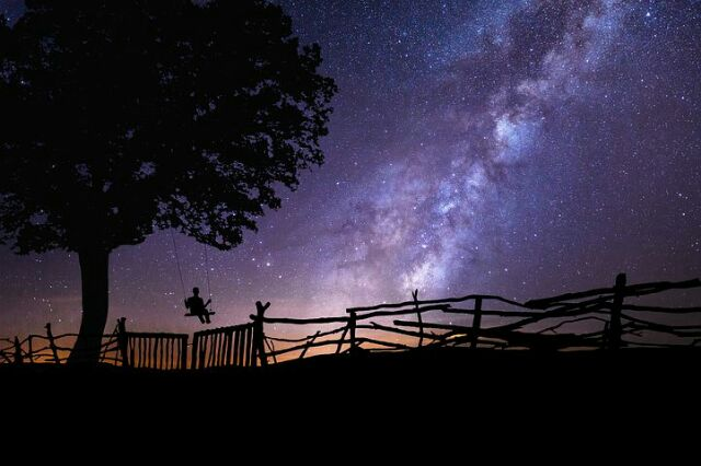 foto milky way