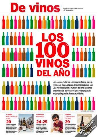 De Vinos: Los 100 vinos del año – Diciembre 2015