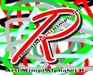 Arti Mimpi Alphabet R