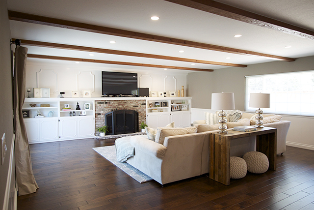 Client Reveal Casual And Cool Family Room Michaela