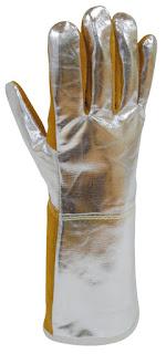 Guante Térmico Anticalórico e Ignífugo de cuero GAC - DUSEC - JOMIBA