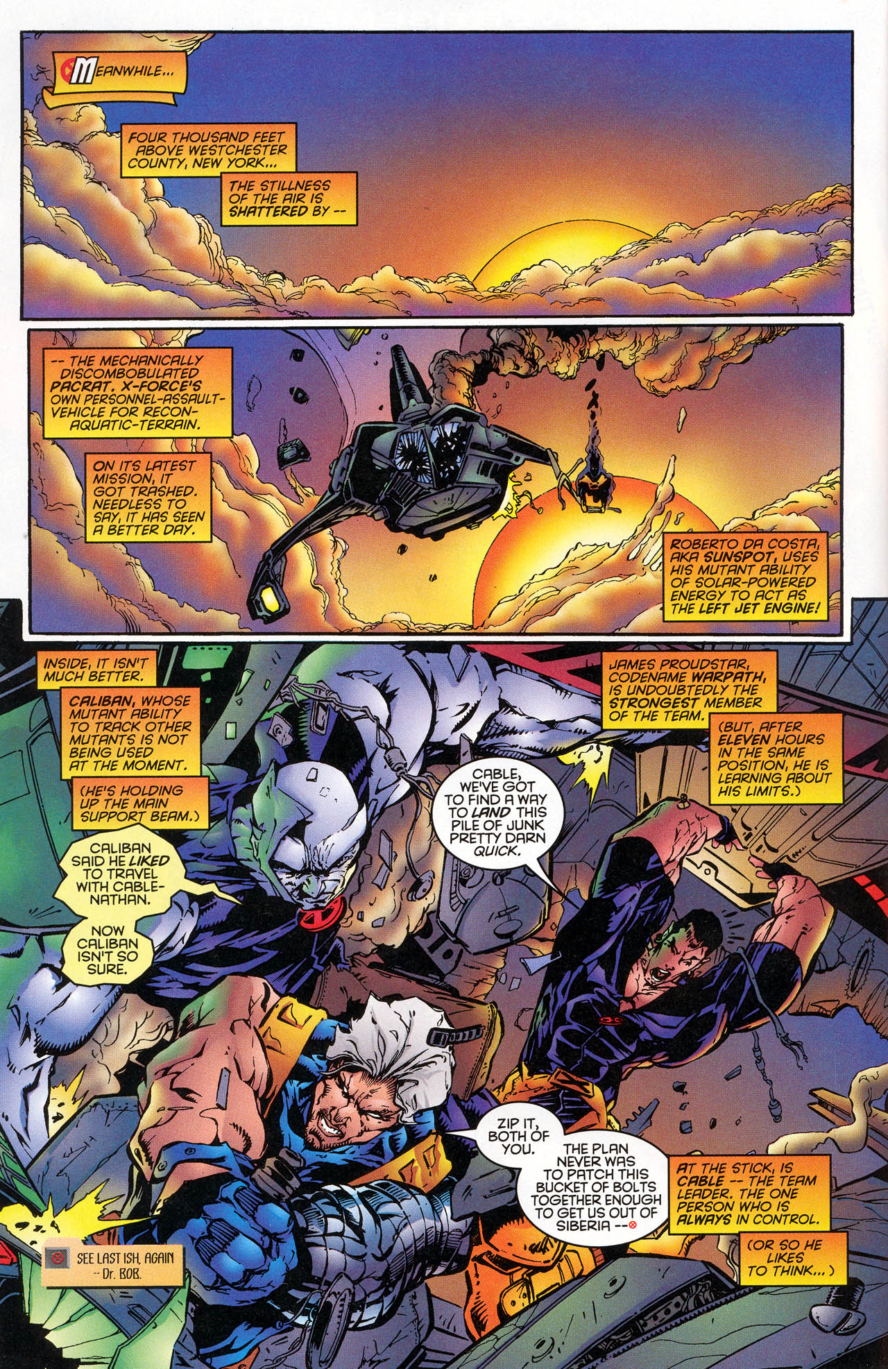 Read online X-Force (1991) comic -  Issue #47 - 7
