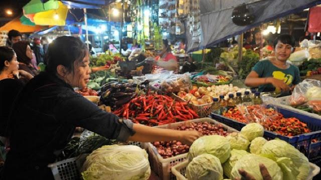 Sidak Dinas Perdagangan di Pasar Manis Ciamis, Harga Sembako Stabil Jelang Ramadhan