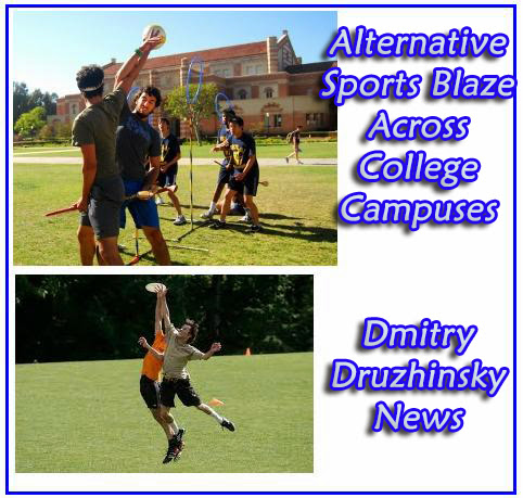 Alternative Sports Blaze Across College Campuses