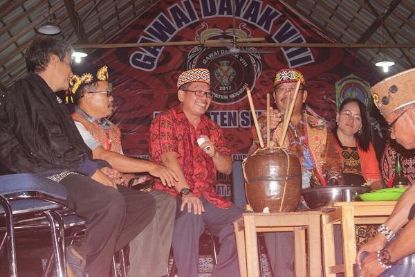 Askiman: Kedepan Perlu Adanya Pekan Gawai Dayak Gabungan Dikawasan Timur Kalbar