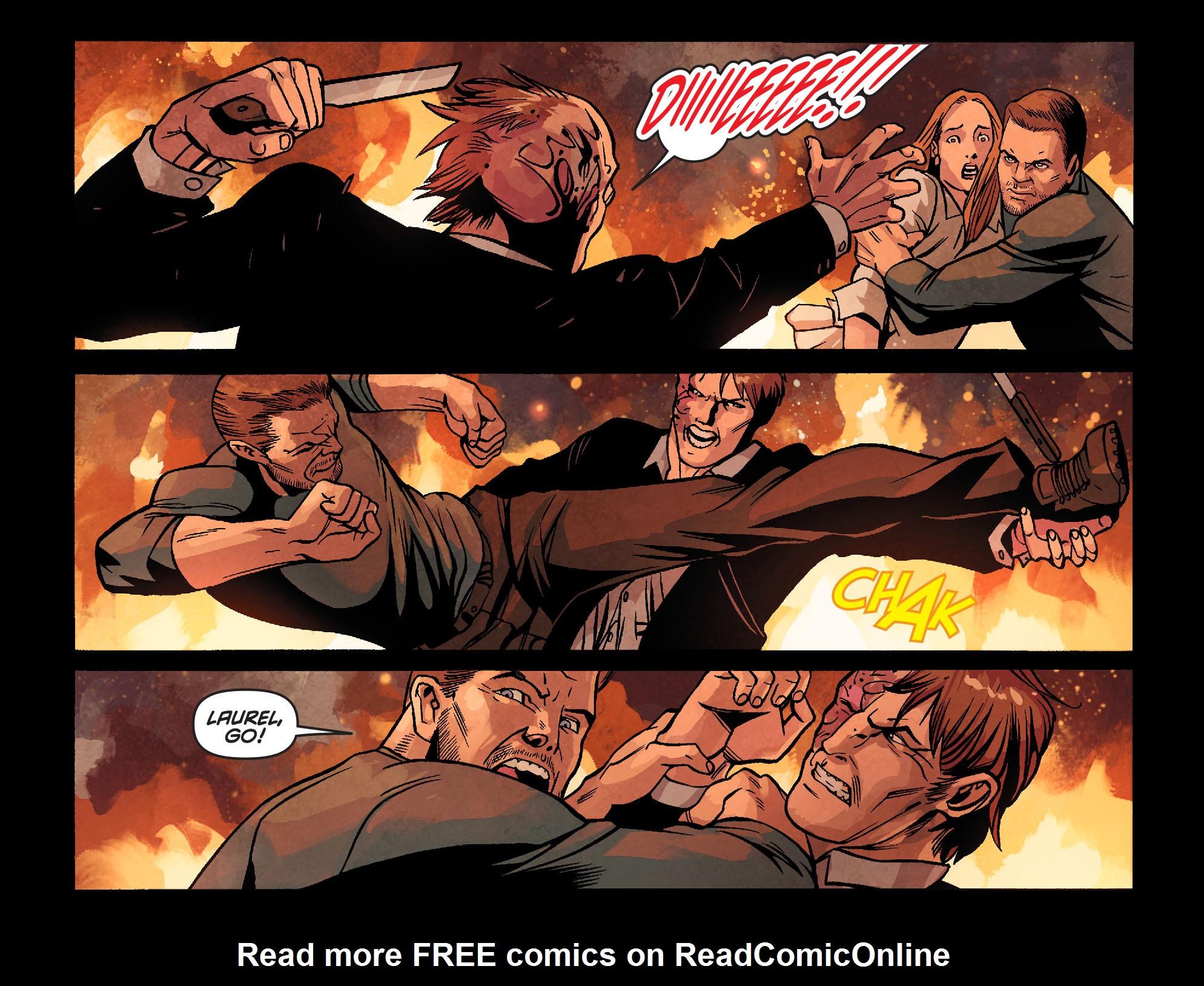 Read online Arrow: Season 2.5 [I] comic -  Issue #22 - 17