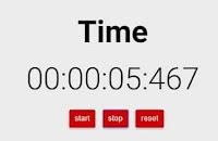 ساعة ايقاف اون لاين ( Stopwatch )