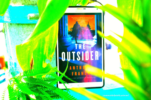 The Outsider by Anthony Franze | Blog Tour | Book Review by iamnotabookworm!