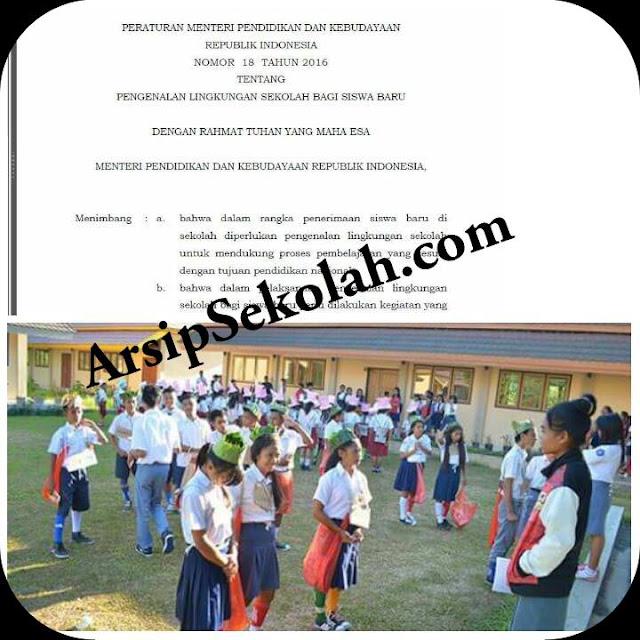 Download Gratis Pedoman Pelaksanaan Masa Orientasi Siswa ( MOS ) Dengan Kebijakan Baru
