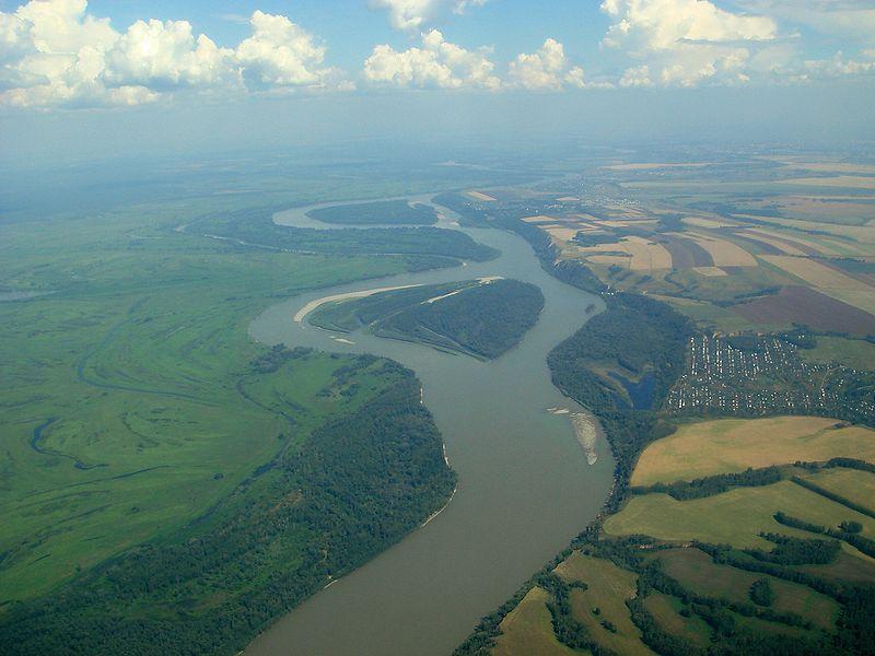 Mother Nature Ob River - A long river