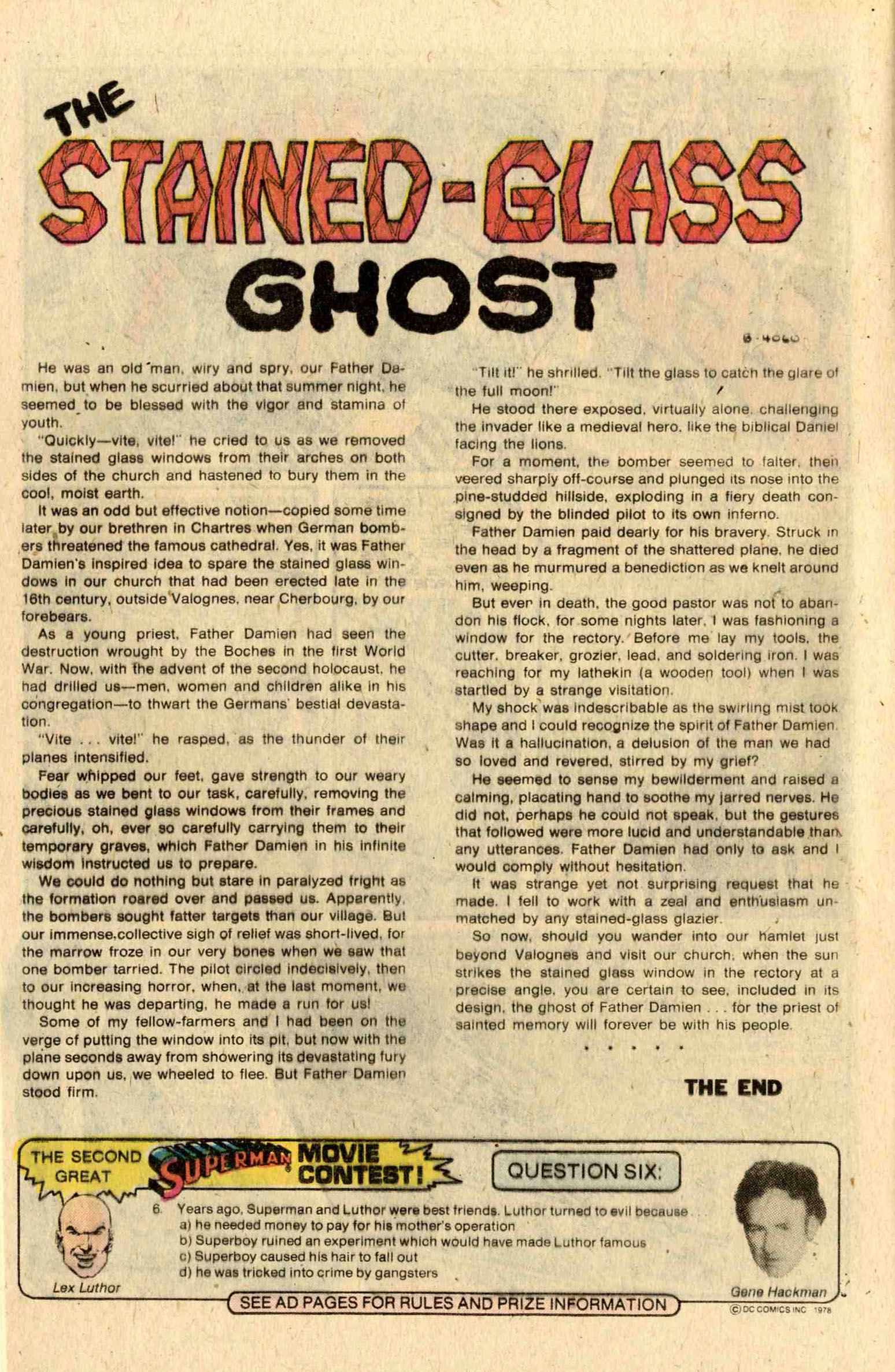Read online Ghosts comic -  Issue #72 - 12