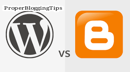 Google Blogger or WordPress, Which One You Should Use?