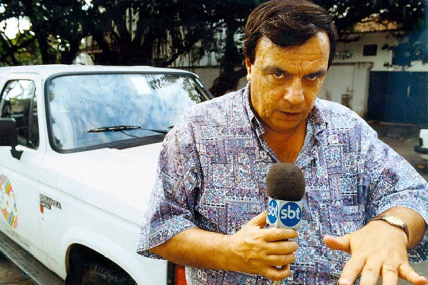 Morre, ao 78 anos, o jornalista e repórter policial Gil Gomes