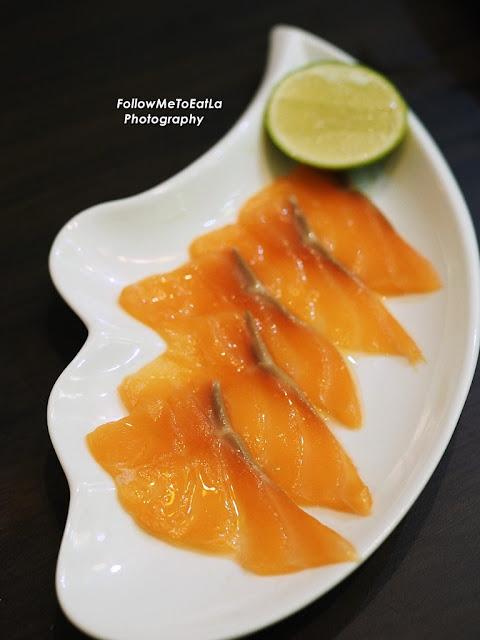 Fresh Salmon Slice