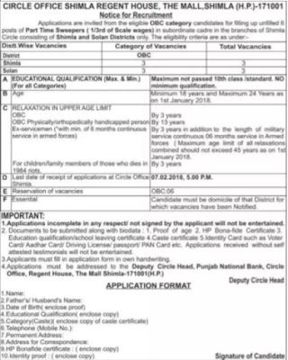Punjab National Bank (PNB) Recruitment 2018