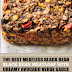 The Best Meatless Black Bean Meatloaf with Creamy Avocado Verde Sauce (Vegan & Gluten Free)