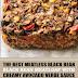 The Best Meatless Black Bean Meatloaf with Creamy Avocado Verde Sauce (Vegan & Gluten Free)