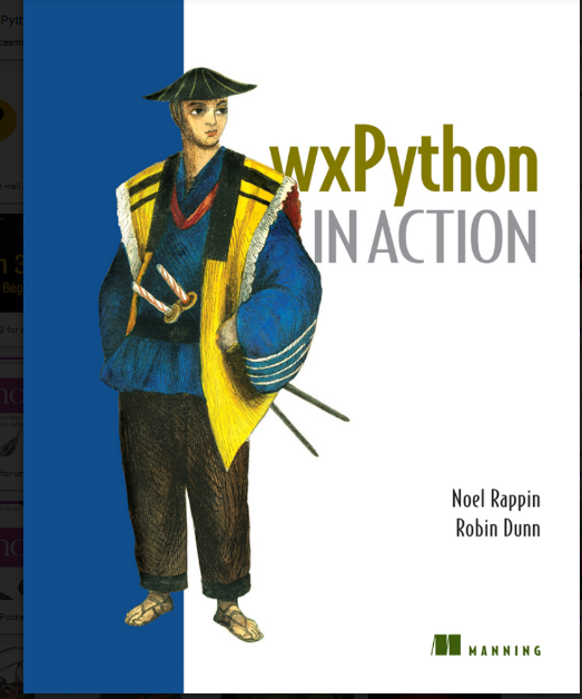 wxPython inaction by Noel Rappn Robin Dunn