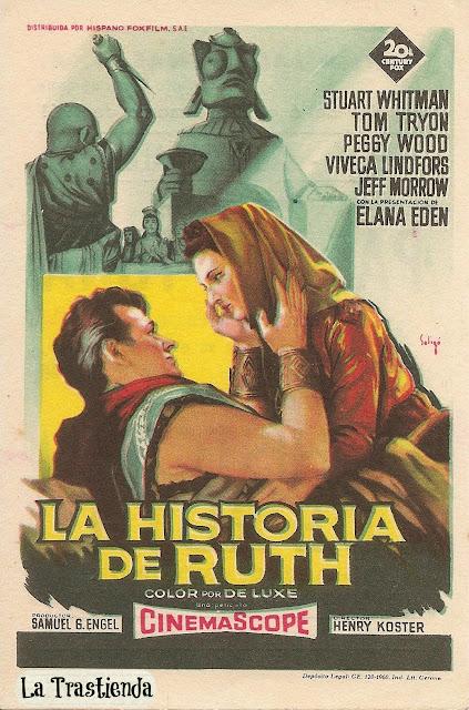 Programa de Cine - La Historia de Ruth - Stuart Whitman - Peggy Wood
