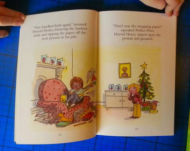 Horrid Henry's Christmas Lunch 100th Early Reader from Orion Books