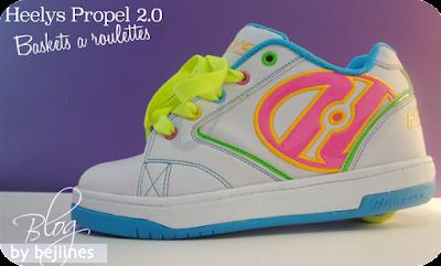 Les chaussures à Roulettes Heelys PROPEL 2.0
