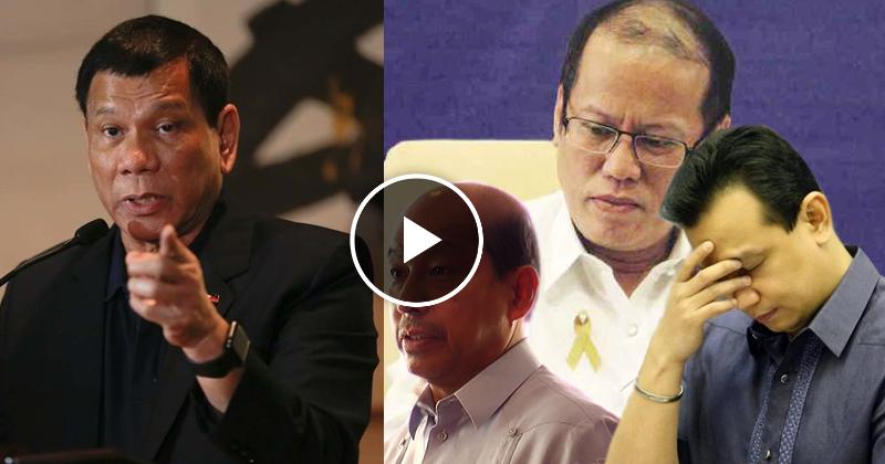 Watch: President Duterte, nais paimbestigahan sina Abad, Pnoy at Trillanes sa DAP
