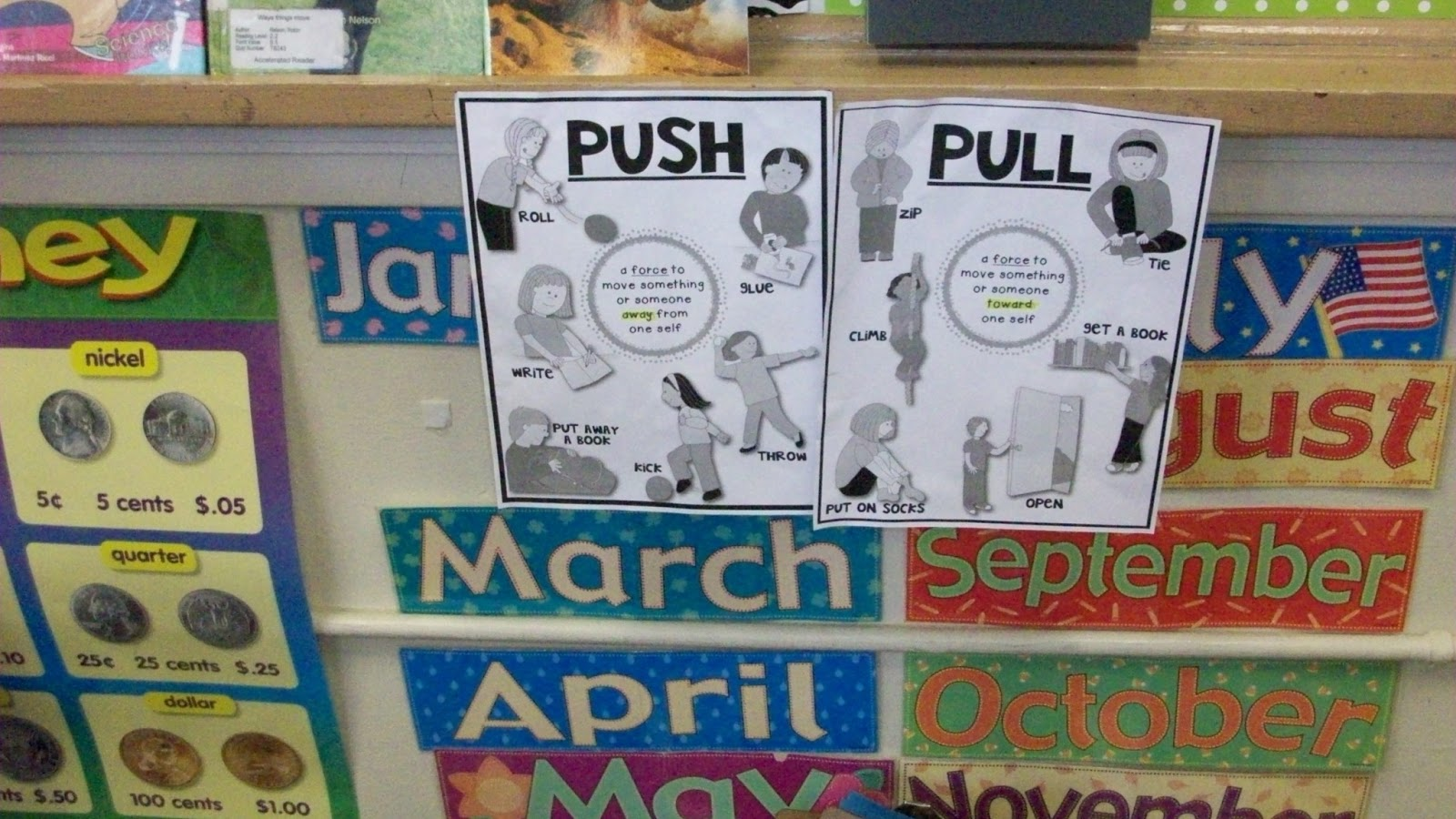 First Grade Amaze Force Science Lesson Teaching Push And
