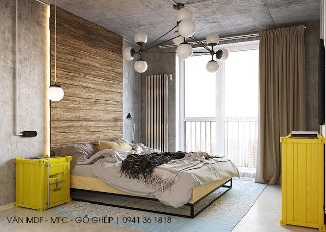 thiết kế phòng ngủ phong cách tinh nghịch năng động
