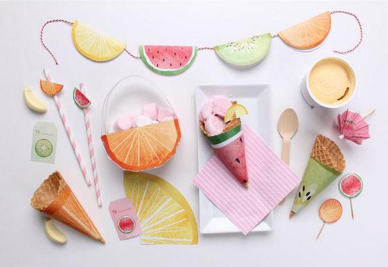 imagen_guirnalda_imprimir_gratis_decorar_fiestas_free_garland_party_frutas_fruit_printables