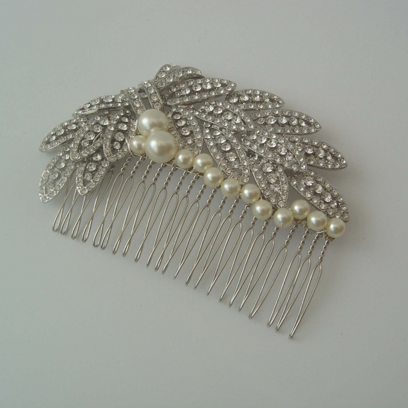 Elegance of living: Wedding Hair Combs