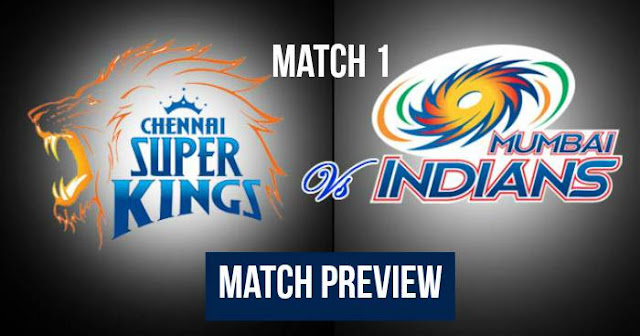 IPL 2018 Match 1 MI vs CSK: Preview, Prediction and Head to Head: Who Will Win?