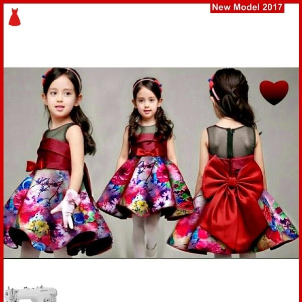 MSF0175 Model Dress Flowery Murah Mimie Kid BMG