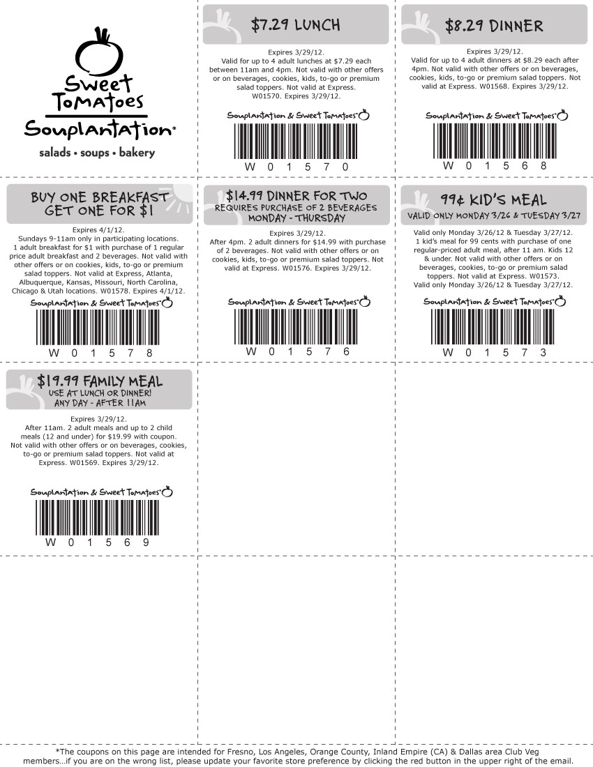 photograph about Souplantation Printable Coupons known as Texas Price savings Junkies: Fresh new Souplantation Cute Tomatoes