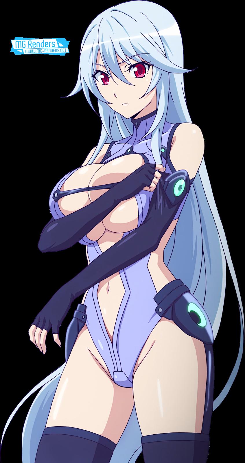 Tags: Anime, Render,  Bodysuit,  Chidorigafuchi Aine,  Huge Breasts,  Masou Gakuen HxH,  PNG, Image, Picture