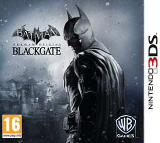 Batman: Arkham Origins Blackgate, 3DS, Español, Mega