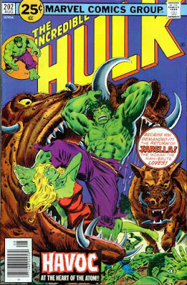 Incredible Hulk #202, Jarella is back