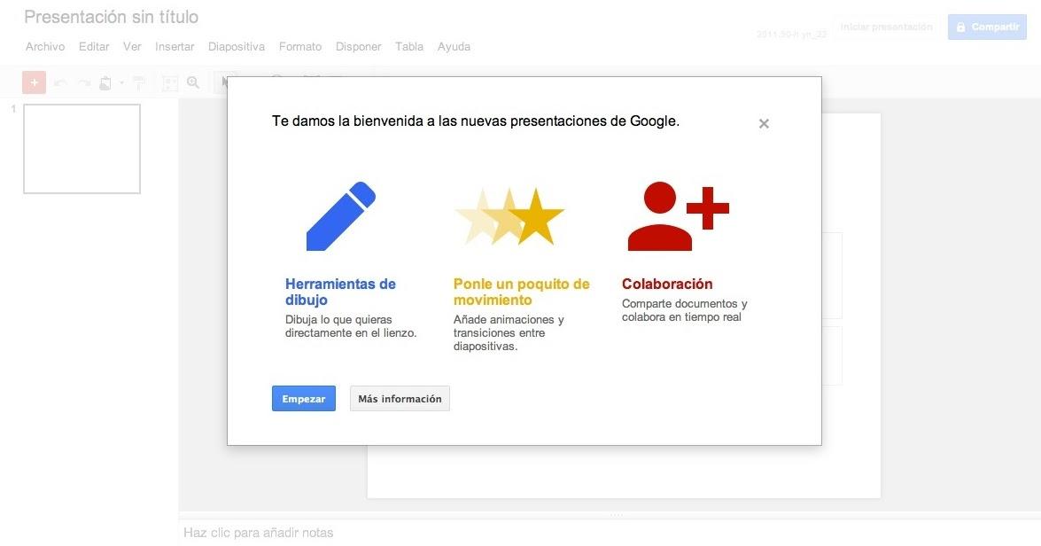 esto es google un nuevo aire para las presentaciones de google docs