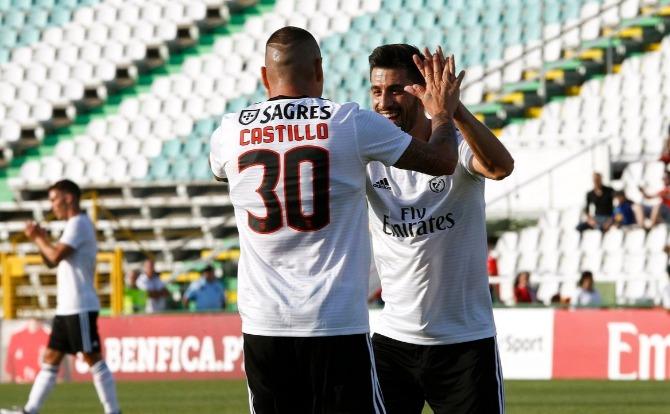 Benfica futebol Castillo