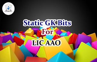 Static GK Bits for LIC AAO Set-4